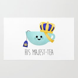 His Majest-tea Rug