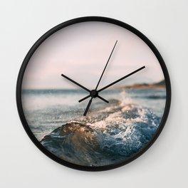 Calming Rolling Wave Wall Clock