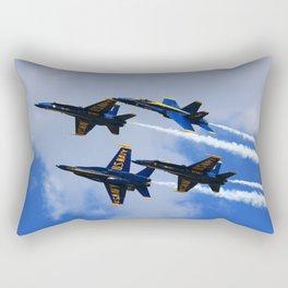 US Navy Blue Angels Rectangular Pillow