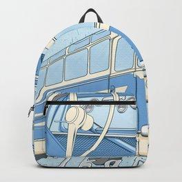 Ikarus 55 blue Backpack