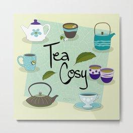 Tea Cosy Metal Print