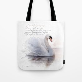 The Swan Princess Tote Bag