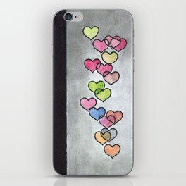 Periscope Hearts iPhone Skin