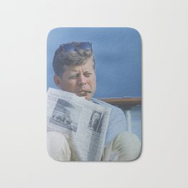 JFK SMOKING Bath Mat