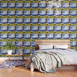 Monk's waterfall Wallpaper