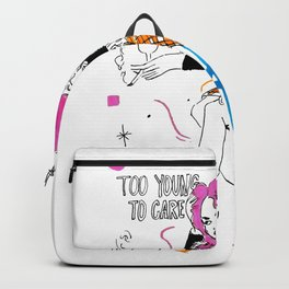 too young Backpack