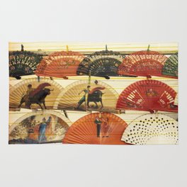 Spanish Scratched Fans Rug