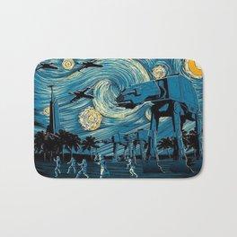 Starry (Wars) Night Bath Mat