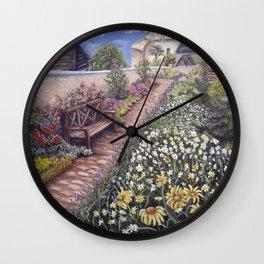 Cowbridge Physic Garden Wall Clock