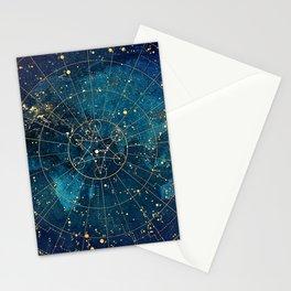 Star Map :: City Lights Stationery Cards