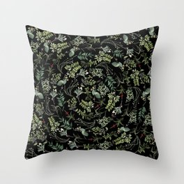 Circular Nature Throw Pillow