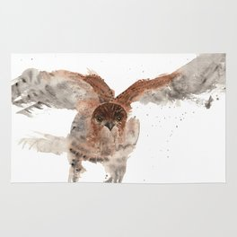 Hawk on the Hunt Rug