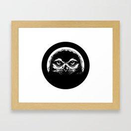 meh.ro logo Framed Art Print