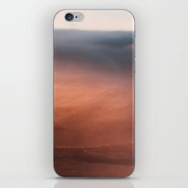 Above the Cloud Looking over the Earth - Landscape Photography iPhone Skin