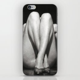 CROSSED LEGS - analog iPhone Skin