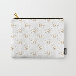 Alien Pattern GOLD Carry-All Pouch