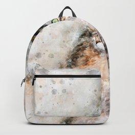 Duchess Watercolor Cat Backpack