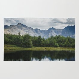 Cuillin Ridge - Isle of Skye, Scotland Rug