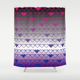ace bi Shower Curtain