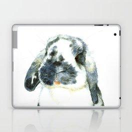 Fluffy Bunny Laptop & iPad Skin