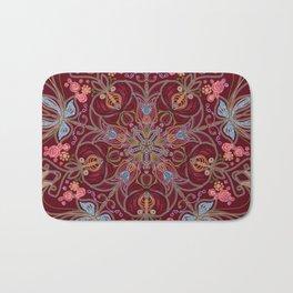 Colorful Mandala Bath Mat