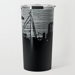 Silent boat. Travel Mug