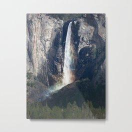 Bridalveil Falls, Yosemite California Metal Print