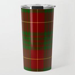 Cameron Red & Green Tartan Pattern #2 Travel Mug