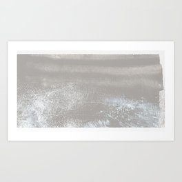 'The Catskill Mountain III - Grey' Art Print