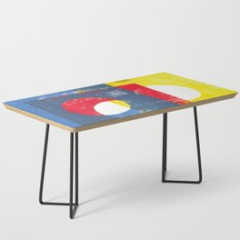 Basic in red, yellow and blue Coffee Table