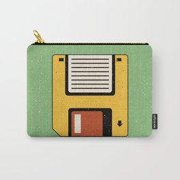 Floppy Disc Carry-All Pouch