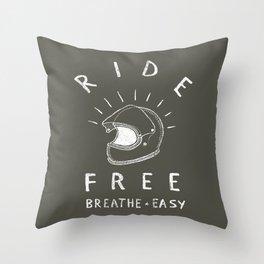 breathe easy Throw Pillow