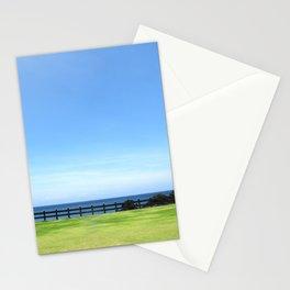 Shining horizon Stationery Cards