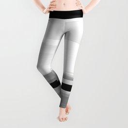 Soft Determination Black & White Leggings
