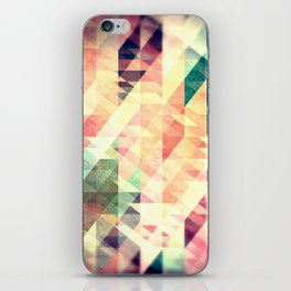Textured Geometric Abstract iPhone Skin