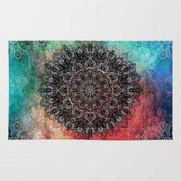 Higher Cosmic Vibrations Mandala Rug
