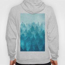 Misty Pine Forest 2 Hoody