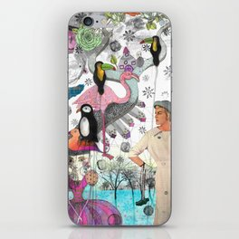 Collage I iPhone Skin