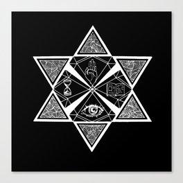 Star of David Canvas Print