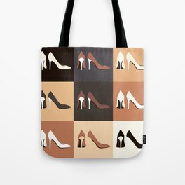 heel shoes-ıv Tote Bag