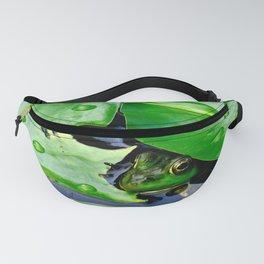 Peek  A Boo frog Fanny Pack