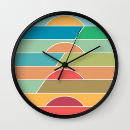 4 Degrees Wall Clock