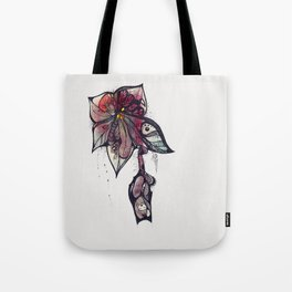 Bloody lily Tote Bag