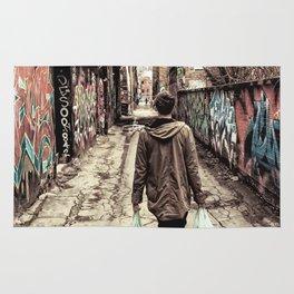 Graffiti Alley Rug