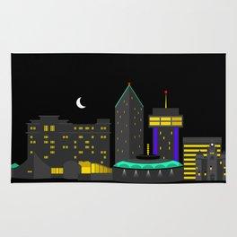 Wichita, Kansas Skyline Rug