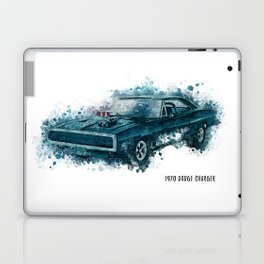 1970 Dodge Charger Laptop & iPad Skin