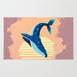 Sky Whale Rug