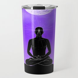 Third Eye chakra. Travel Mug