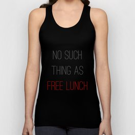 FREE LUNCH 2 Unisex Tank Top