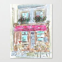 Crepe Suzette Canvas Print